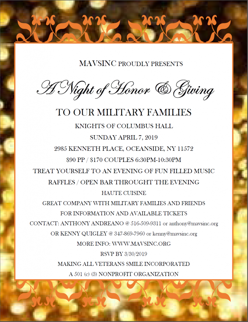 Night of Honor and Giving